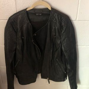 Top shop Black leather jacket